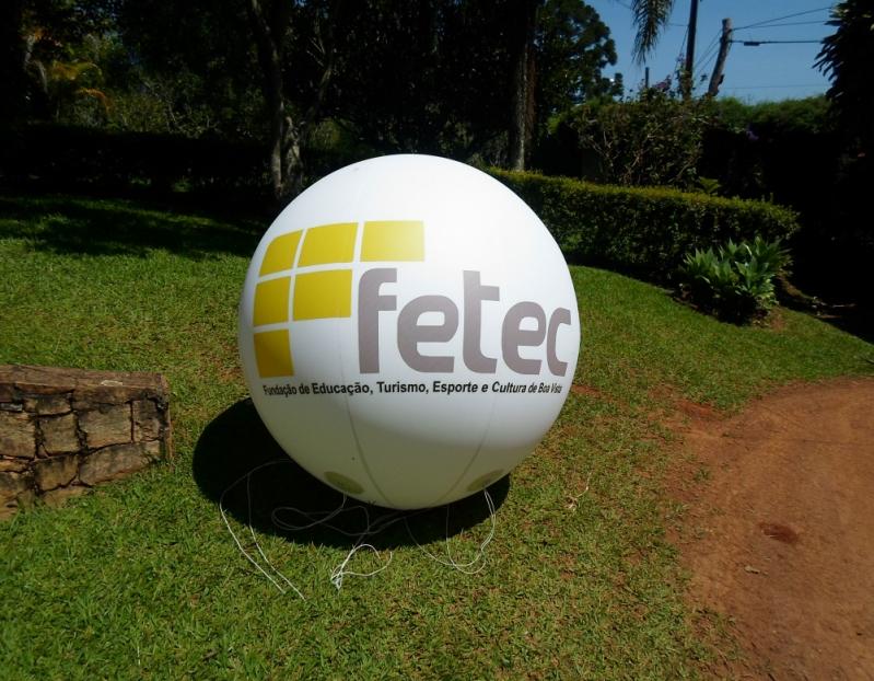 Bolas Promocionais Personalizadas para Eventos em Mauá - Balões Promocionais