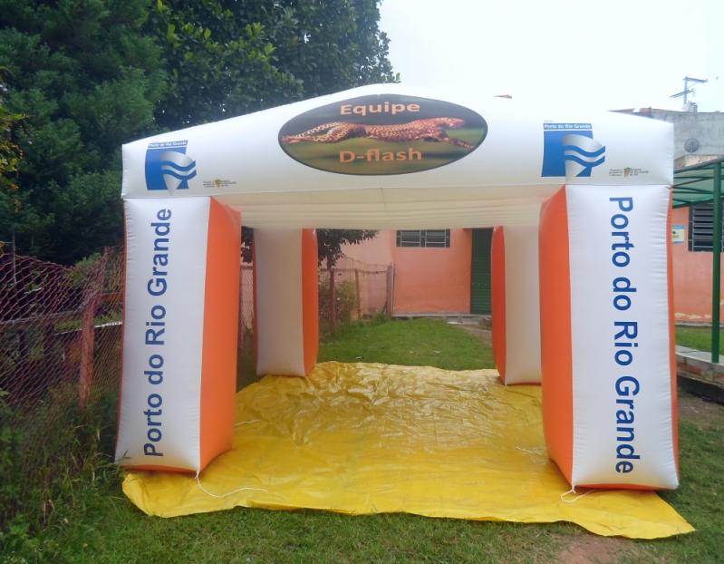 Fábrica de Infláveis para Propaganda no Jardim São Luiz - Fábrica de Tendas Infláveis