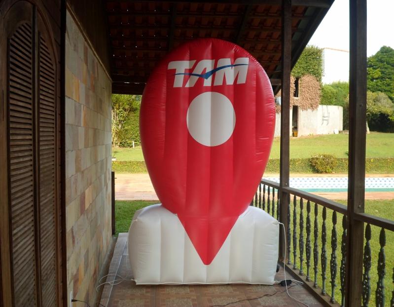 Fábrica de Logotipo Inflável para Eventos no Itaim Bibi - Fábrica de Tendas Infláveis