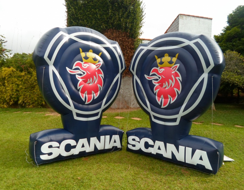 Fábrica de Logotipo Inflável no Piauí - PI - Teresina - Fábrica de Tendas Infláveis