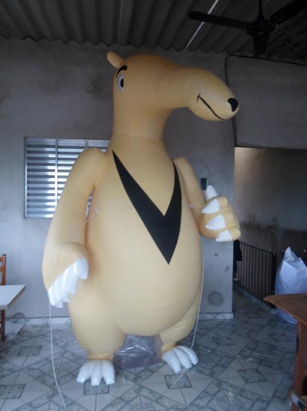 Fábrica de Mascote Inflável em Sp para Propaganda na Vila Buarque - Mascote Inflável para Ação Promocional