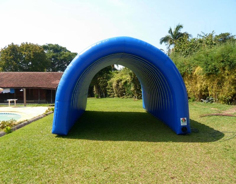 Fábrica de Túneis Infláveis em Sp no Parque São Rafael - Túnel Inflável Promocional