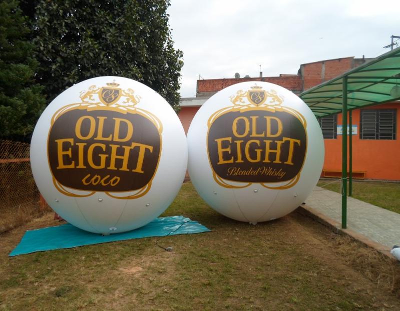 Fabricante de Bolas Promocionais Personalizadas no M'Boi Mirim - Balões Infláveis Promocionais