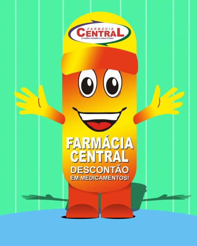 Fabricante de Mascote Inflável Barato em Marília - Mascotes Big Inflável
