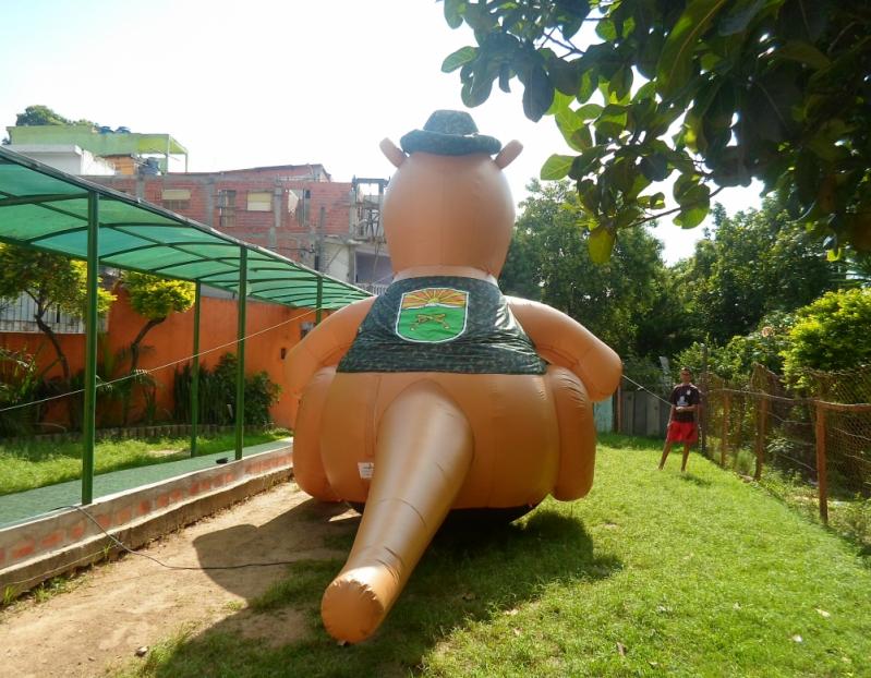 Fabricante de Mascote Inflável em Rio de Janeiro - RJ - Rio de Janeiro - Mascote Inflável Promocional