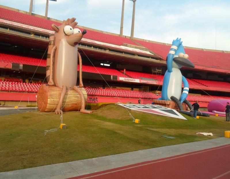 Fabricante de Mascotes Infláveis Personalizados em Guarulhos - Mascotes Big Inflável