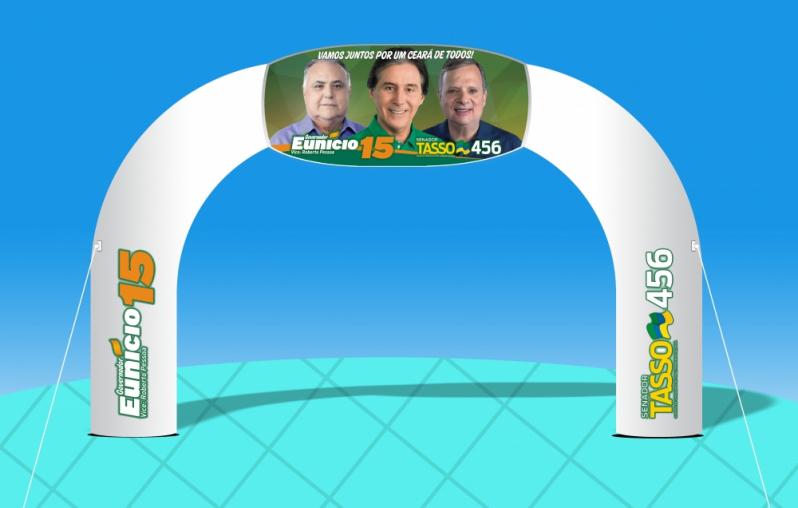 Fabricante de Portais Infláveis para Eventos Corporativos em Jaboticabal - Pórticos Infláveis para Eventos