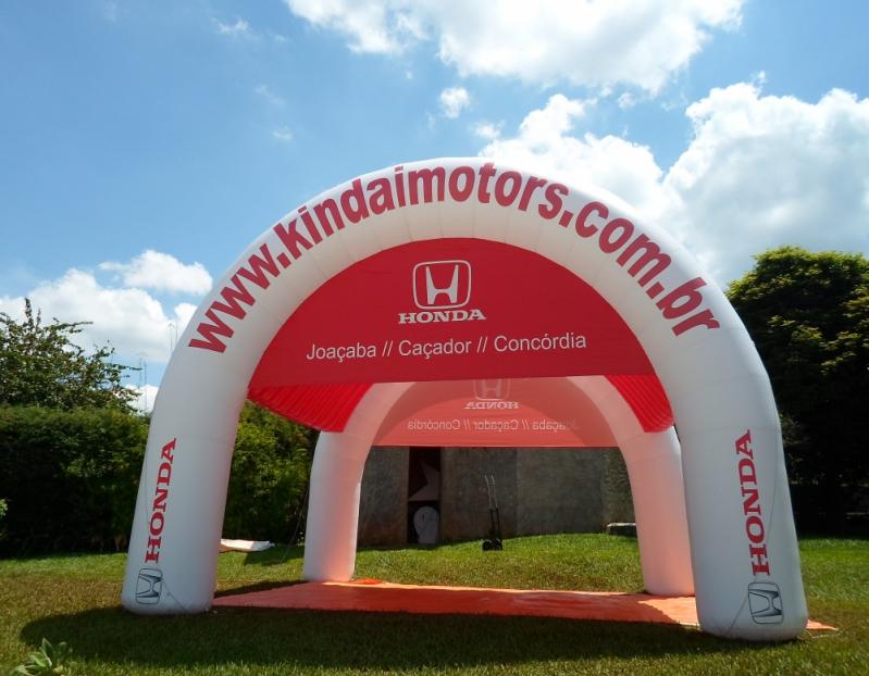 Fabricante de Stand Inflável para Eventos em Minas Gerais - MG - Belo Horizonte - Stands Infláveis Promocionais
