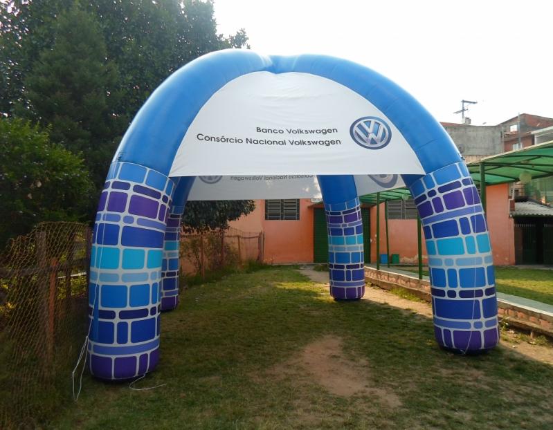 Fabricante de Stand Inflável para Show em Minas Gerais - MG - Belo Horizonte - Stand Inflável Promocional