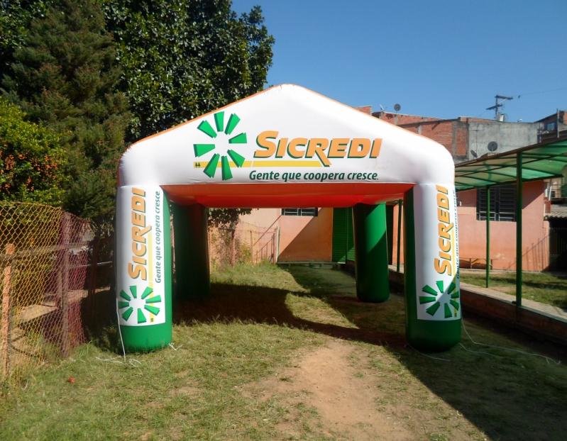 Fabricante de Stand Inflável Promocional no Alto de Pinheiros - Stands Infláveis Promocionais