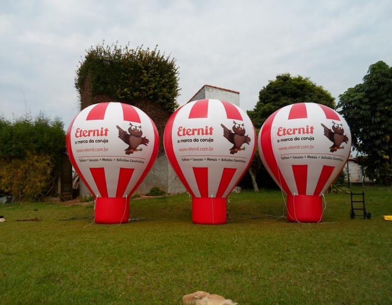 Infláveis Promocionais Curitiba para Eventos em Caieiras - Venda Balões Promocionais Infláveis