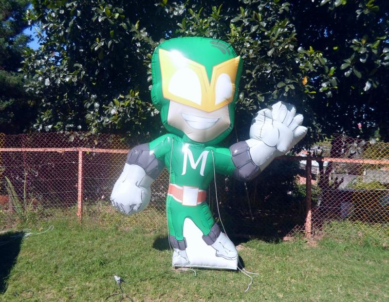 Mascote Inflável para Ação Promocional para Propaganda no Cambuci - Fábrica de Mascotes Infláveis São Paulo