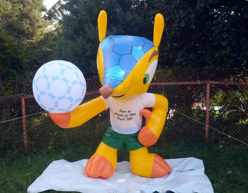 Mascote Inflável para Eventos em Santo André - Mascote João Bobo Inflável