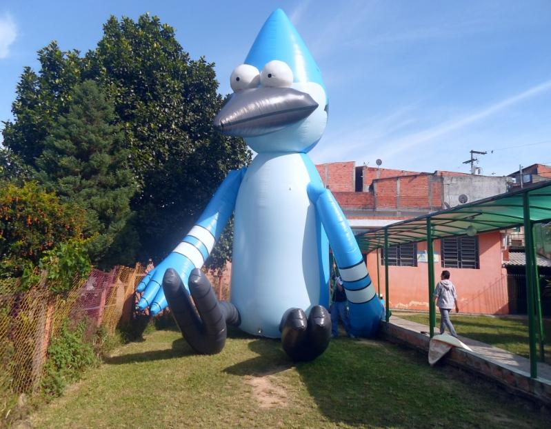 Mascotes Big Inflável em Aricanduva - Mascote Inflável para Ação Promocional