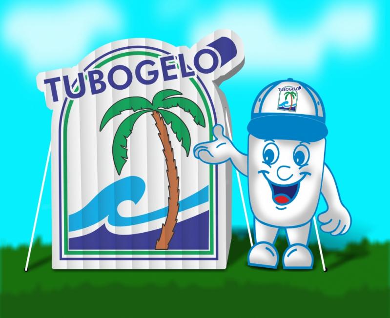 Mascotes Infláveis de Posto de Gasolina para Eventos no Ipiranga - Mascote Inflável para Ação Promocional