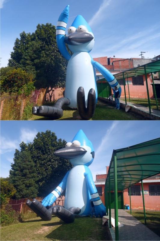 Mascotes Infláveis Promocionais para Eventos no Sacomã - Mascote Inflável Promocional