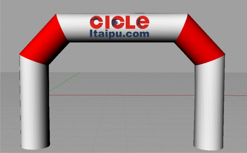 Portais Infláveis para Eventos para Propaganda na Mooca - Pórtico Inflável Promocional
