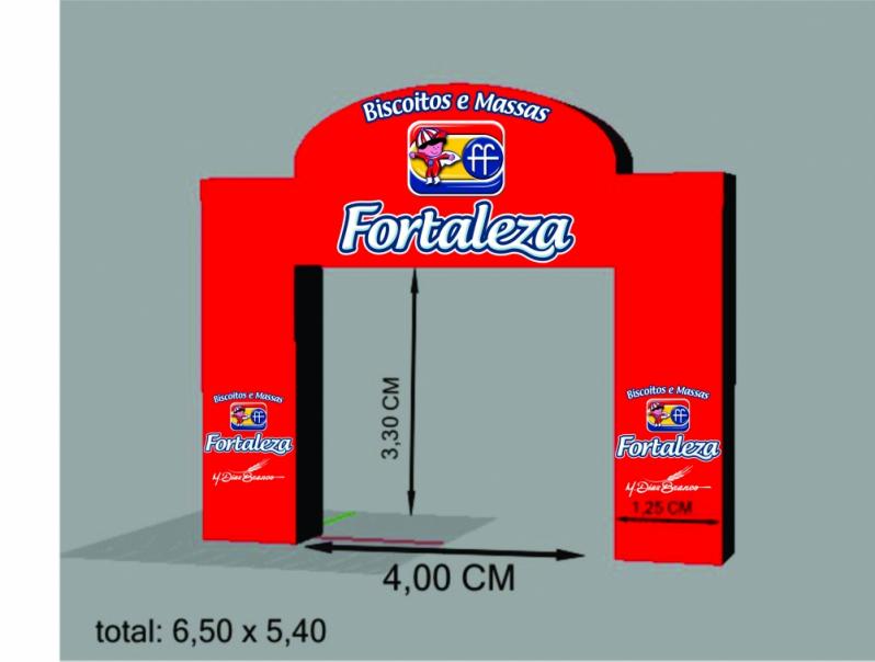 Pórtico Inflável Promocional para Propaganda em Francisco Morato - Portais Infláveis para Eventos Corporativos