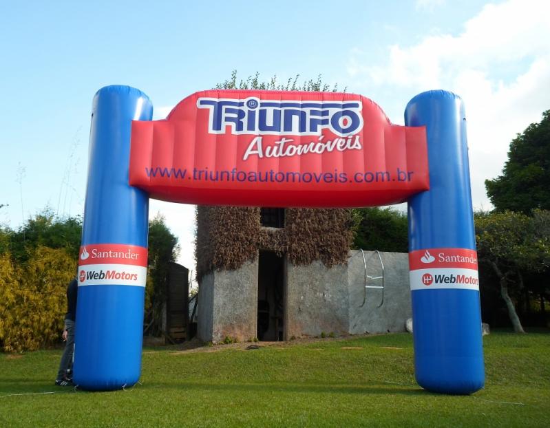 Pórticos Infláveis para Eventos para Eventos em Rio Claro - Portais Infláveis para Eventos