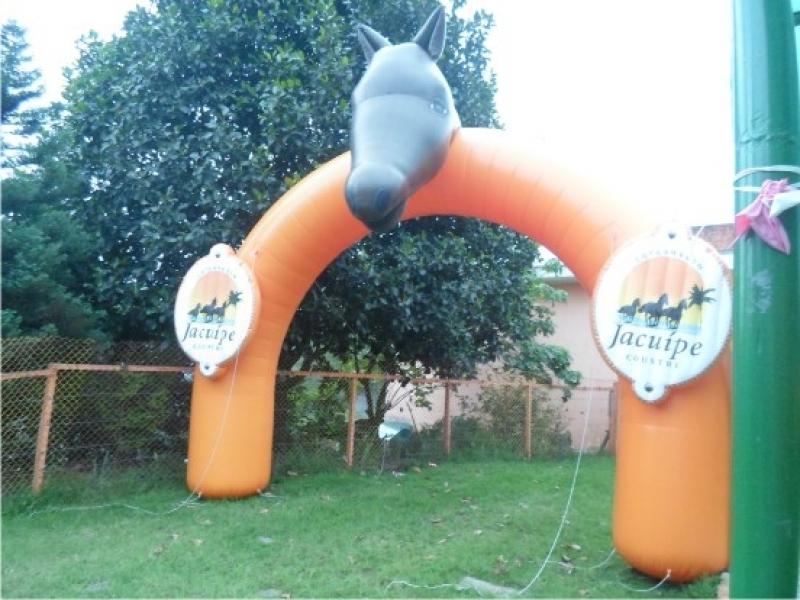 Pórticos Infláveis Promocionais para Eventos na Vila Buarque - Pórtico Inflável Promocional