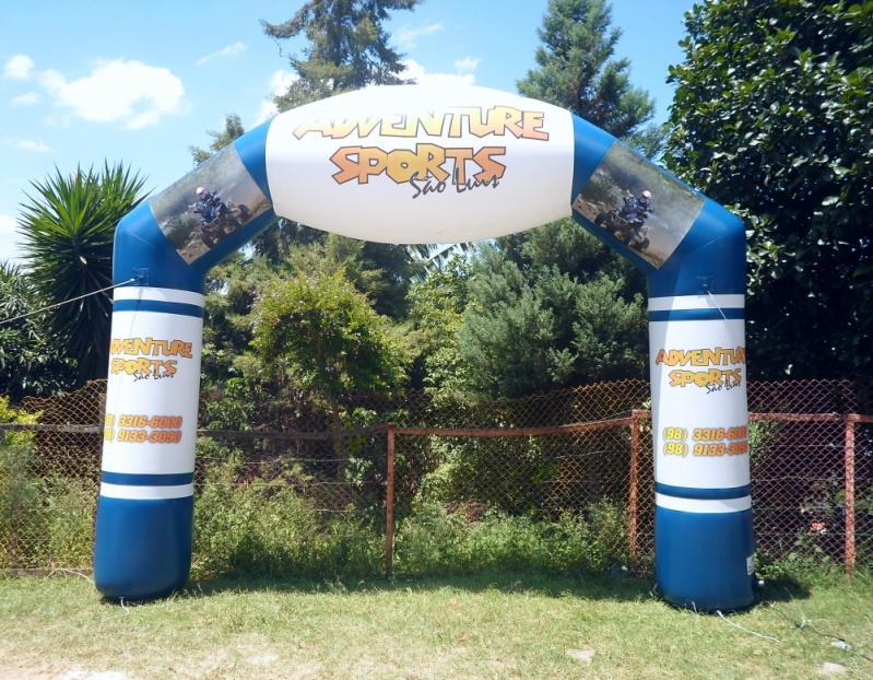 Pórticos Infláveis Promocionais em Franca - Pórticos Infláveis para Eventos