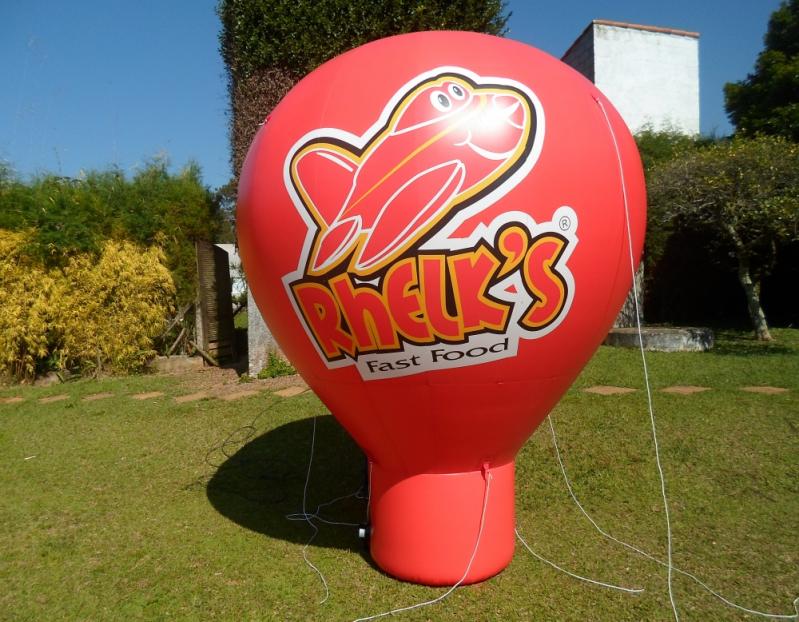 Preço Balões Infláveis Promocionais na Cidade Dutra - Balões Infláveis Promocionais