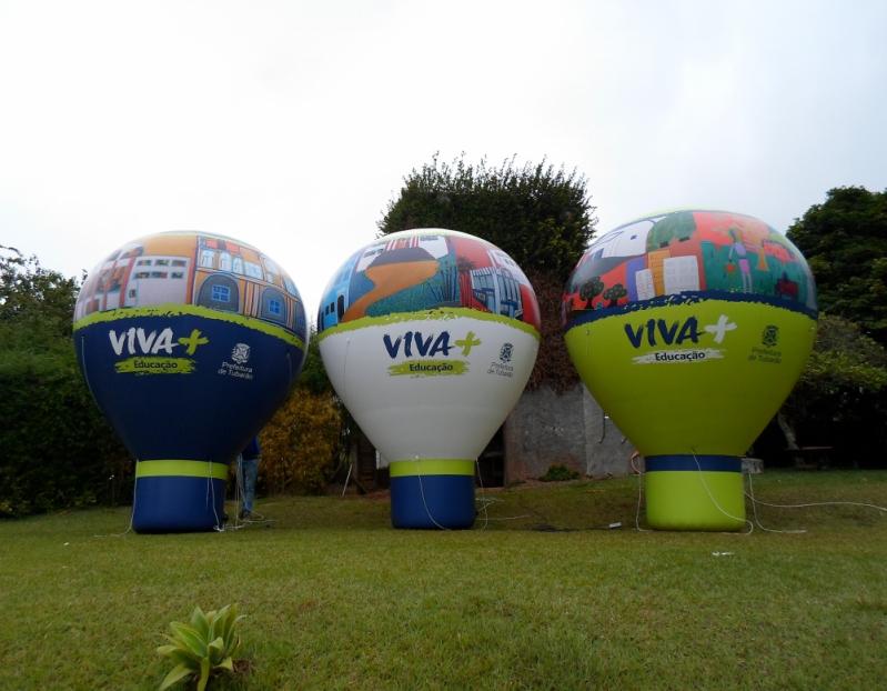 Preço Fábrica de Balões Roof Top na Bela Vista - Roof Top Infláveis em Sp
