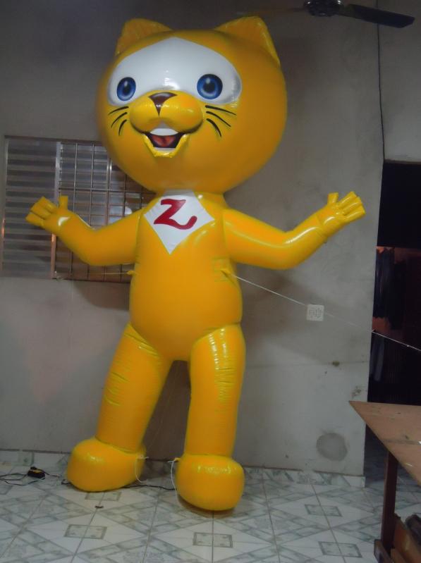 Preço Mascote Inflável a Venda em Artur Alvim - Mascotes Infláveis Promocionais