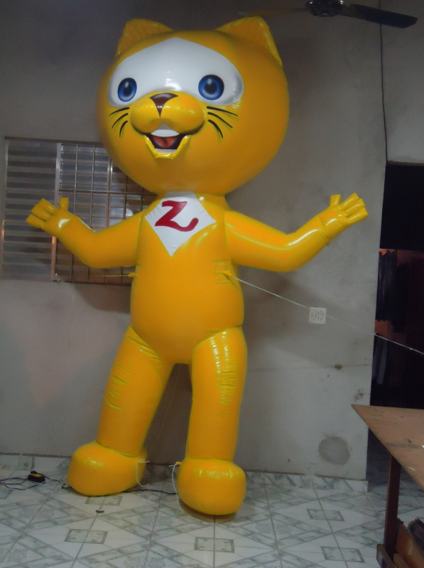 Preço Mascote Inflável a Venda na Vila Leopoldina - Fábrica de Mascote Inflável