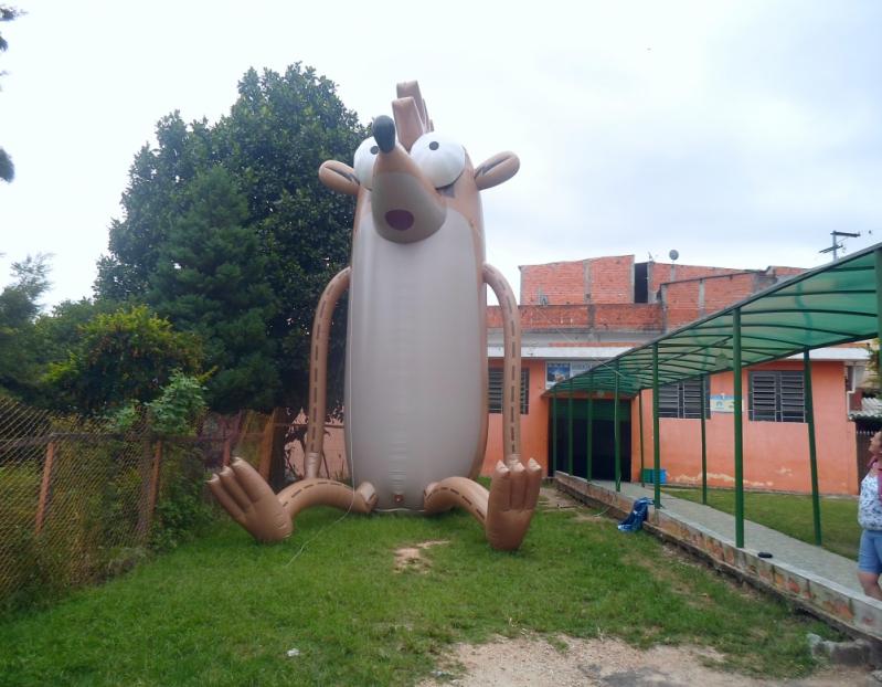 Preço Mascotes Big Inflável em São Bernardo do Campo - Fábrica de Mascote Inflável em Sp