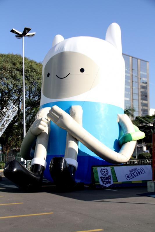 Preço Mascotes Infláveis de Posto de Gasolina em Minas Gerais - MG - Belo Horizonte - Fábrica de Mascotes Infláveis