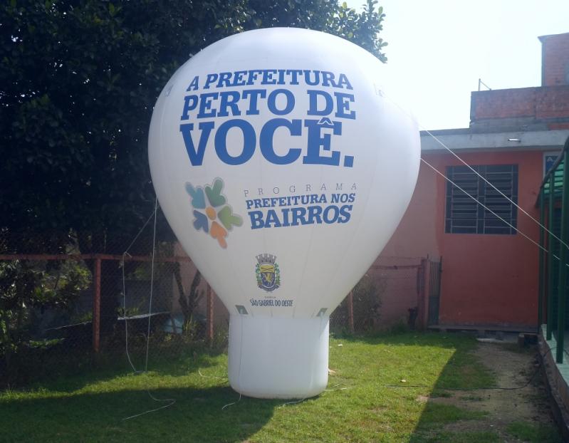 Roof Top Inflável para Propaganda em Jundiaí - Roof Top Inflável Promocional em Sp