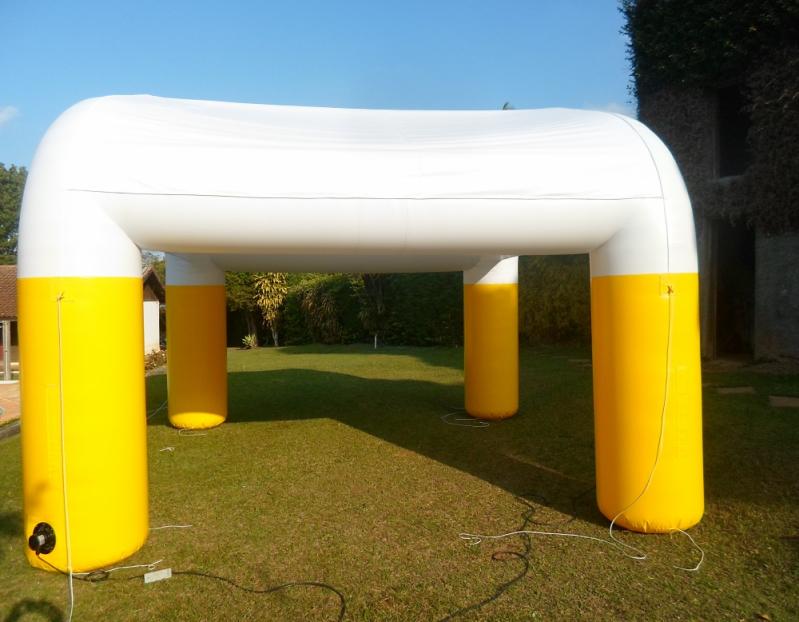 Stand Inflável Gigante para Eventos no Ibirapuera - Venda de Stands Infláveis