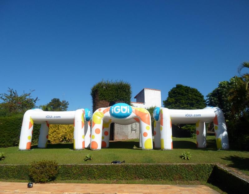 Stand Inflável para Eventos para Eventos em Mendonça - Stand Inflável para Festas