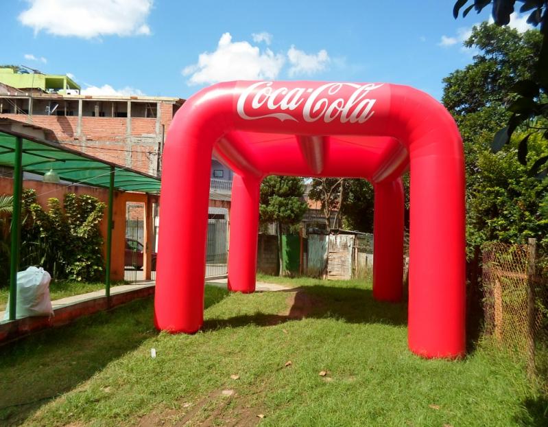 Stand Inflável para Festas para Eventos na Barra Funda - Stand Inflável para Eventos