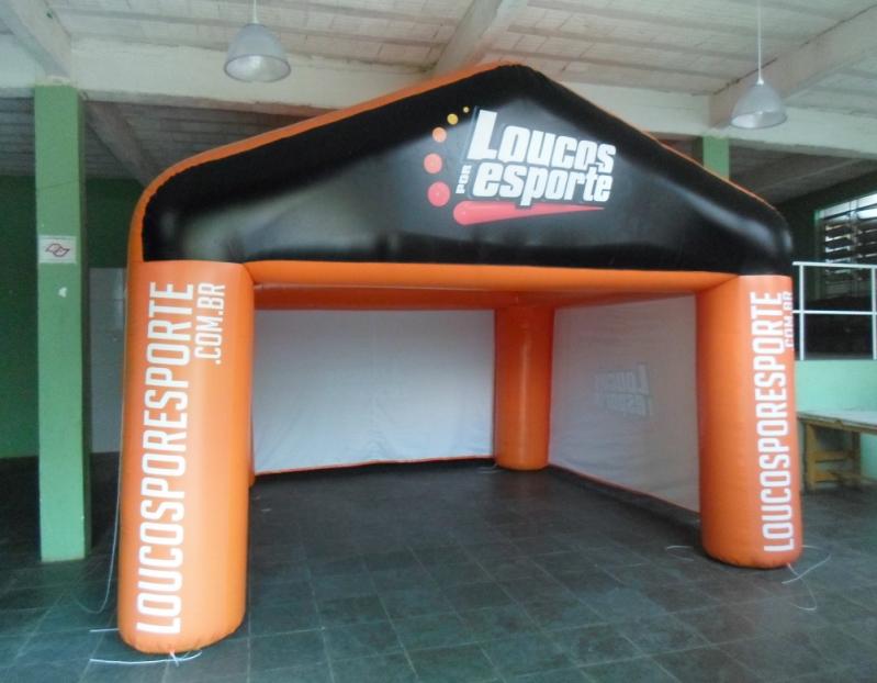 Stand Inflável para Festas para Propaganda no Parque São Lucas - Stand Inflável