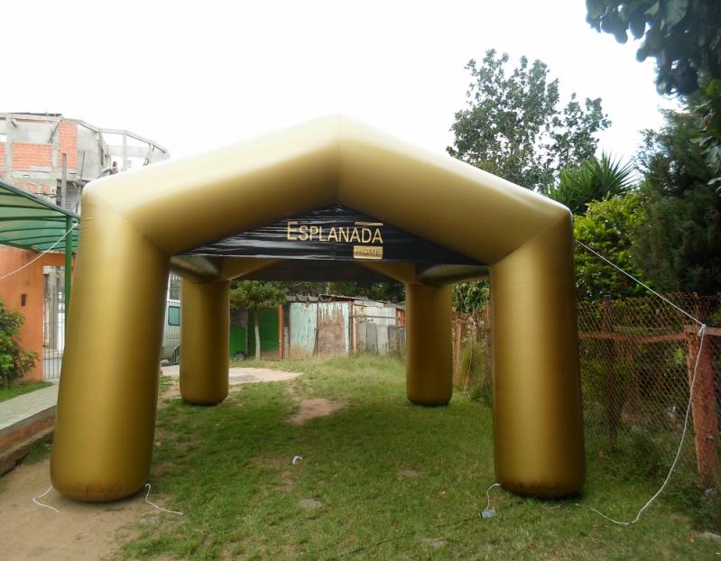 Stand Inflável para Show no Distrito Federal - DF - Brasília - Stand Inflável para Festas