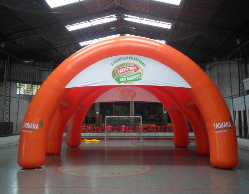 Stand Inflável Promocional para Eventos em Campinas - Stand Inflável para Eventos