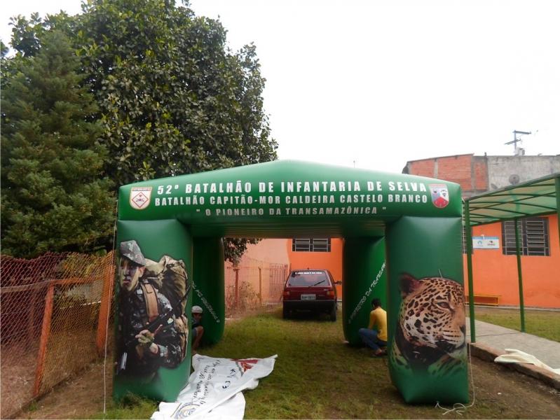 Stands Infláveis Gigantes para Eventos no Campo Belo - Stand Inflável