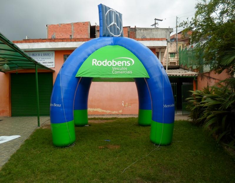 Stands Infláveis para Eventos ARUJÁ - Stand Inflável Gigante
