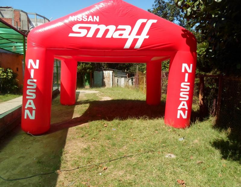 Stands Infláveis para Propaganda no Jardim Ângela - Stand Inflável Gigante