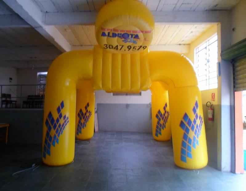Stands Infláveis Promocionais para Eventos em Itaquera - Stand Inflável para Show