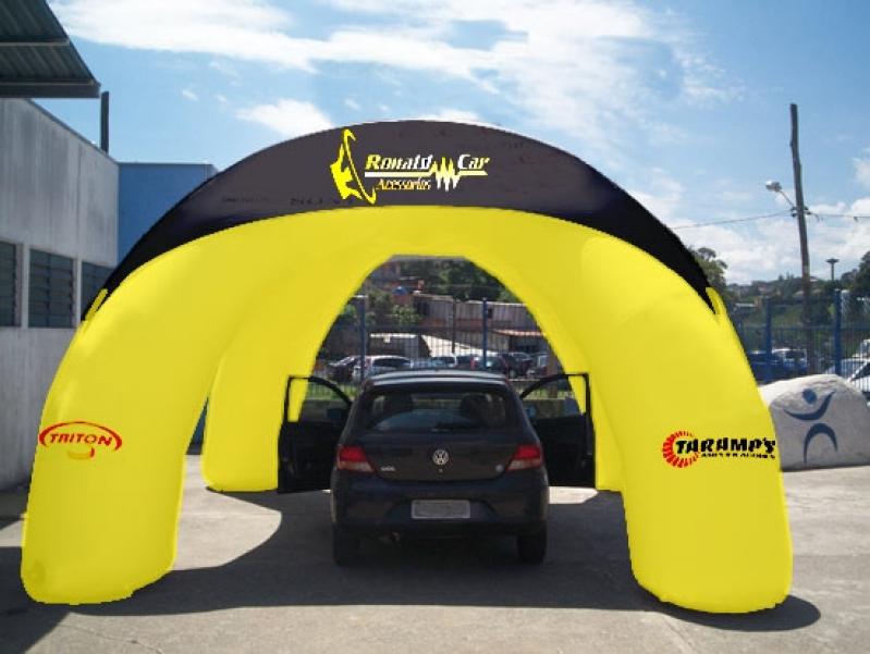 Stands Infláveis Promocionais em Perus - Stand Inflável Gigante