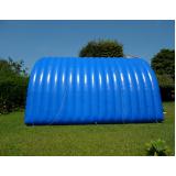aluguel de túnel inflável para ações especiais na Cidade Jardim