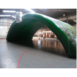 aluguel de túnel inflável para campo de futebol no Campo Belo