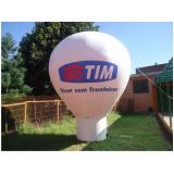 balão inflável para propaganda quanto custa na Liberdade