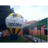 balão inflável personalizado para eventos em Vargem Grande Paulista