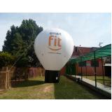 balão inflável propaganda para eventos no Bom Retiro