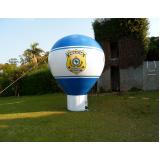 balão inflável roof top para eventos em Taubaté
