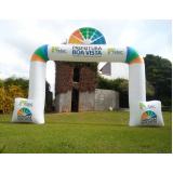balão promocional inflável para eventos em Mogi das Cruzes